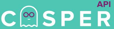 Casper API Symbol Green
